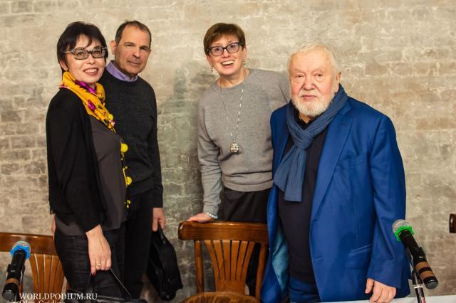 Открытие Театра-Студии САС под руководством Народного артиста России Сергея Соловьева
