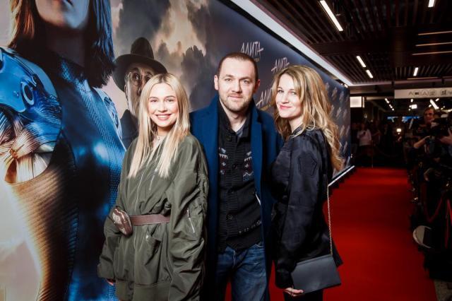 В кинотеатре «Каро 11 Октябрь» состоялась грандиозная премьера фантастической ленты «Алита: Боевой ангел»