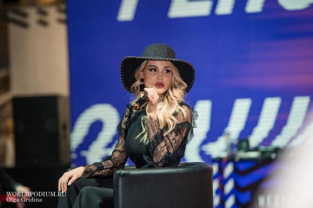 Мария Погребняк открыла серию Public Talks на Неделе моды в Москве