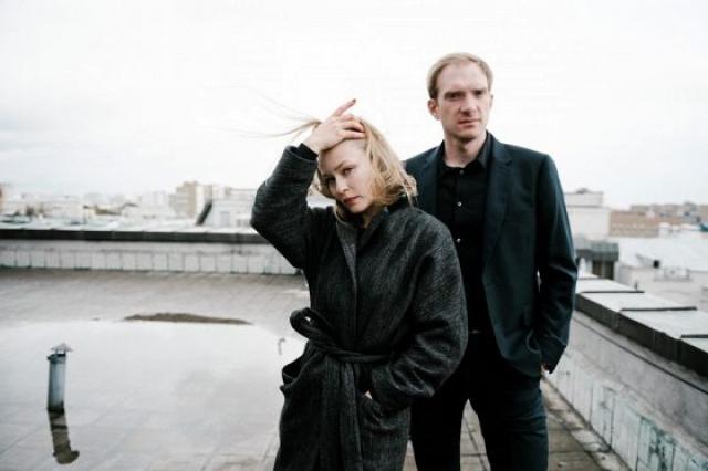 Юлия Пересильд и Андрей Бурковский на «Солнечной линии»