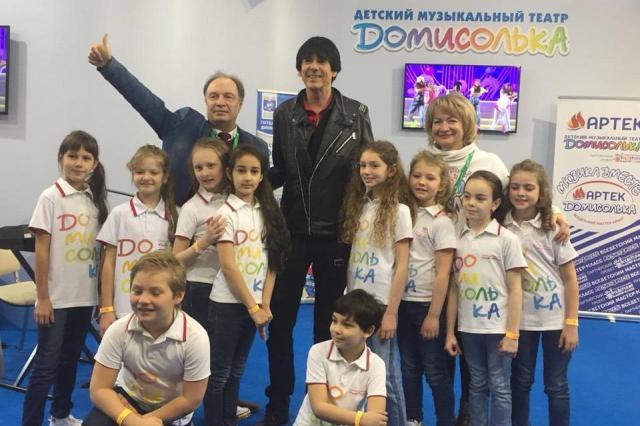 Легендарный Дидье Маруани провёл мастер-класс с «Домисольками» в рамках ММСО
