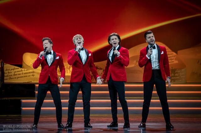 Группа «Кватро» даст Рождественский концерт в Кремле!