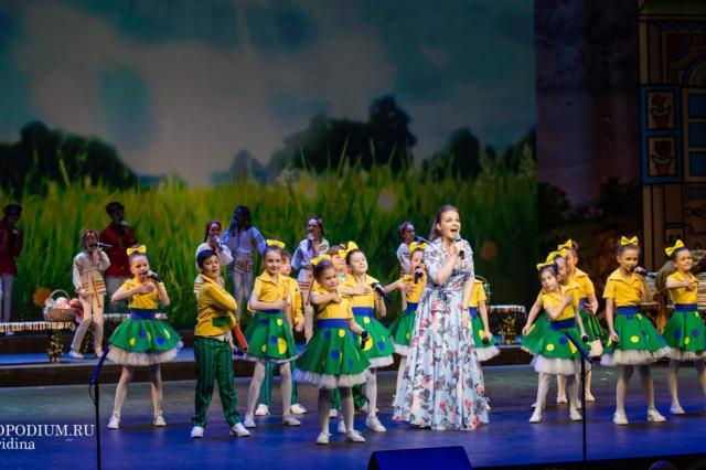 Гала–концерт V Московского городского открытого детско-юношеского фольклорного фестиваля «FOLK БЕЗ ГРАНИЦ»