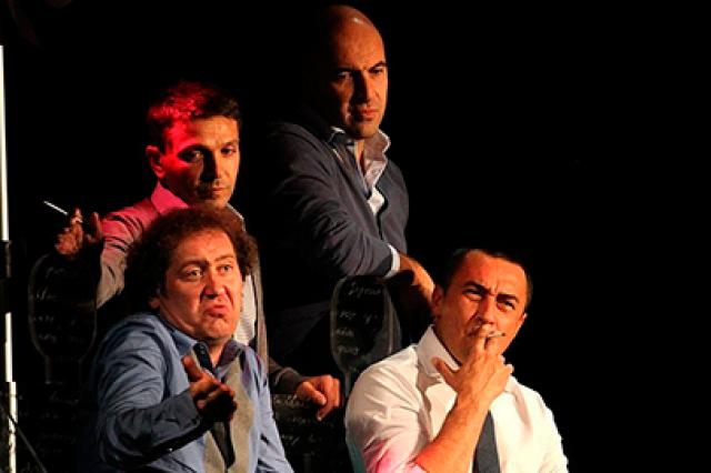 Спектакль «Письма и песни мужчин...»