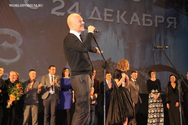Фёдор Бондарчук раскроет секреты «Притяжения» в киноцентре «Октябрь»