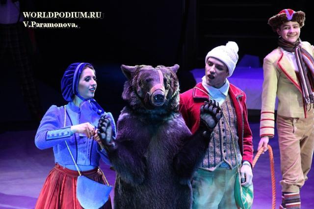 «Снежная королева» в Большом Московском цирке – герои Андерсена, ожившие на манеже!