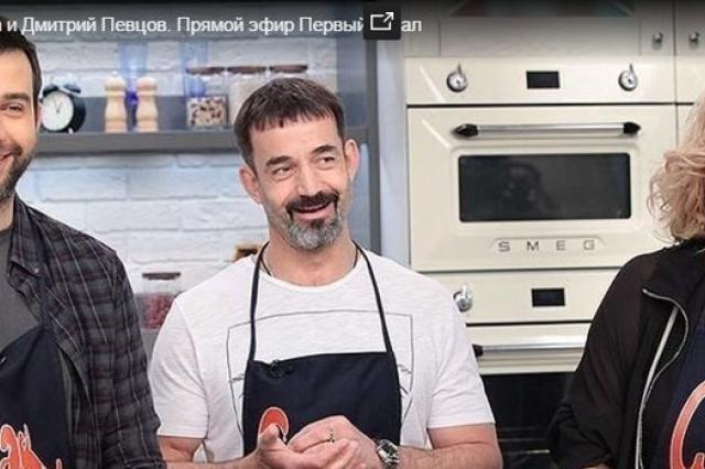 Дмитрий Певцов и Ольга Дроздова в «Смаке»