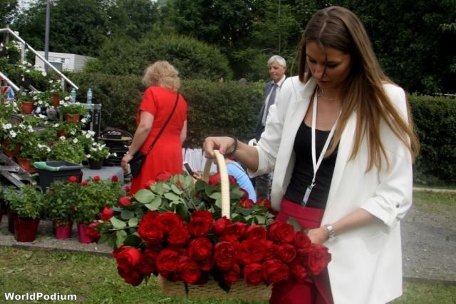 Презентация розы с названием «Москва» и другие сюрпризы «Moscow Flower Show»