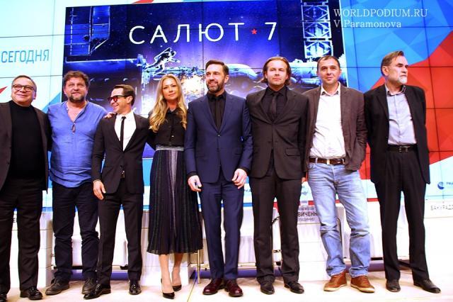 «Я, конечно, вернусь весь в друзьях и в мечтах», - фильм «Салют-7» представлен в столице