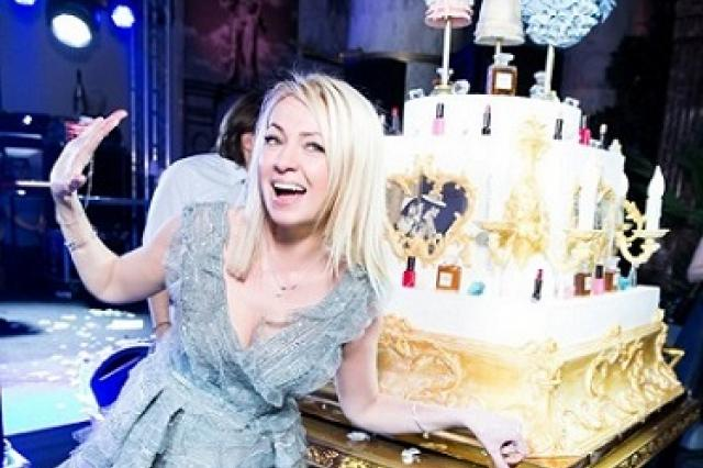 День рождения Яны Рудковской