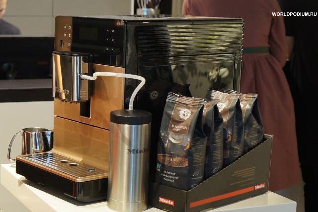 Наслаждение удовольствием – новые отдельно стоящие кофемашины Miele