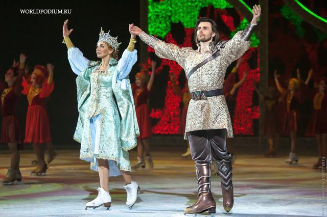 Татьяна Навка представила ледовый мюзикл «Руслан и Людмила»: на арене «Мегаспорта» ожило сказочное «Лукоморье»!