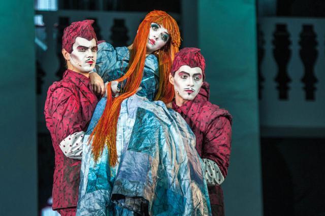 Новый блок спектакля «Всё о золушке» в Театре Мюзикла!