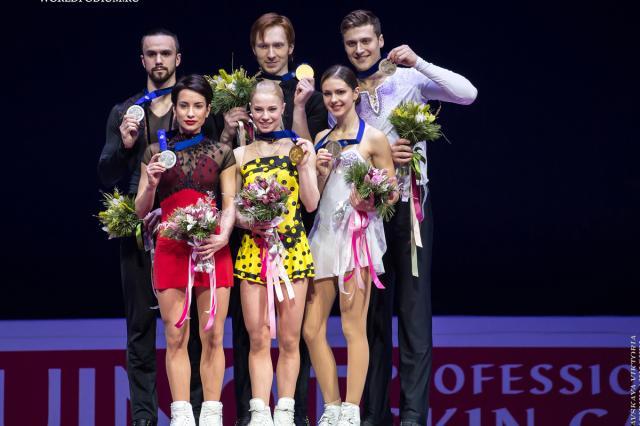 Чемпионат Европы по фигурному катанию. Спортивные пары.