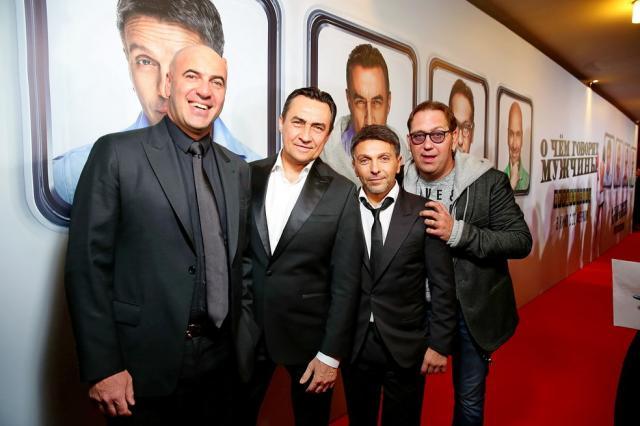 Светская премьера новой комедии Квартета И «О чем говорят мужчины. Продолжение»