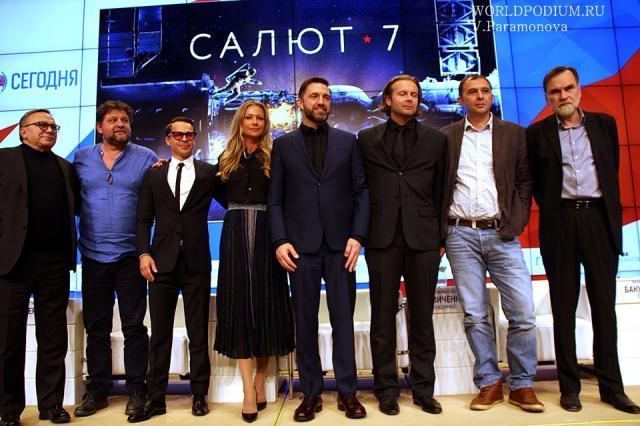 Телевизионная премьера фильма «Салют-7» состоится в День защитника Отечества на канале «Россия 1»