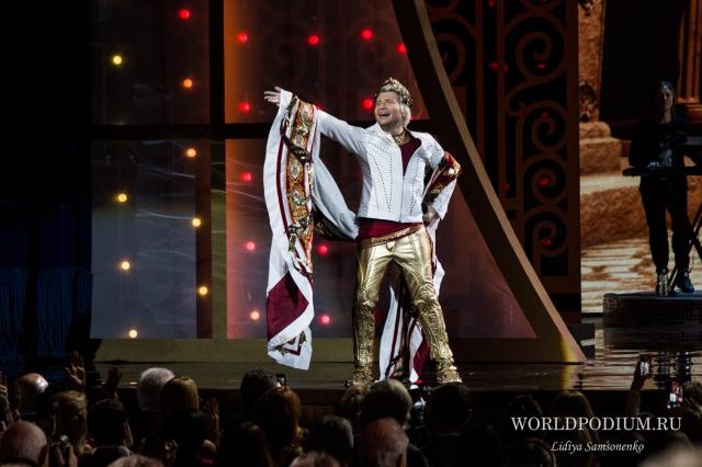 Николай Басков представит в Крокус Сити Холле шоу «Игра»