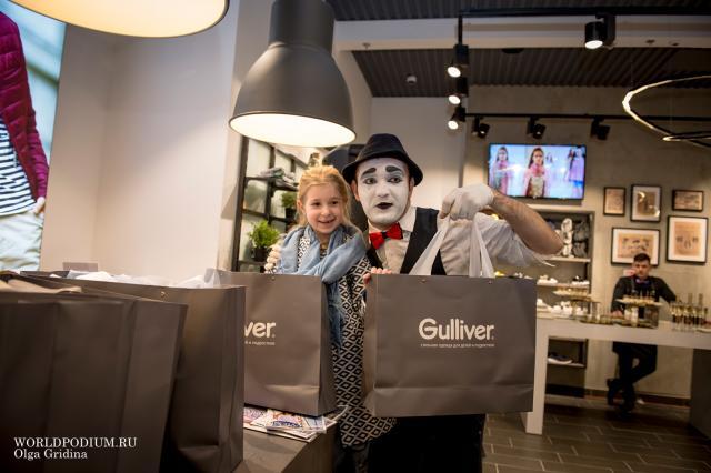 Торжественное открытие магазина бренда Gulliver в ТРЦ «Европейский»