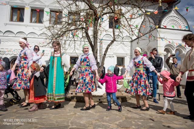 Пасхальный праздник на Дмитровском Подворье