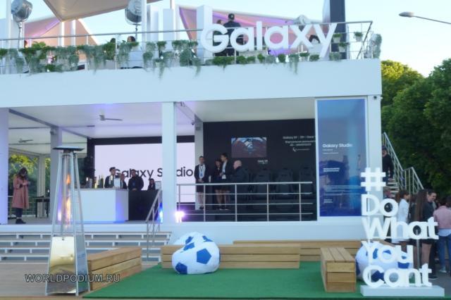 Новая Samsung Galaxy Studio открылась в Парке Горького