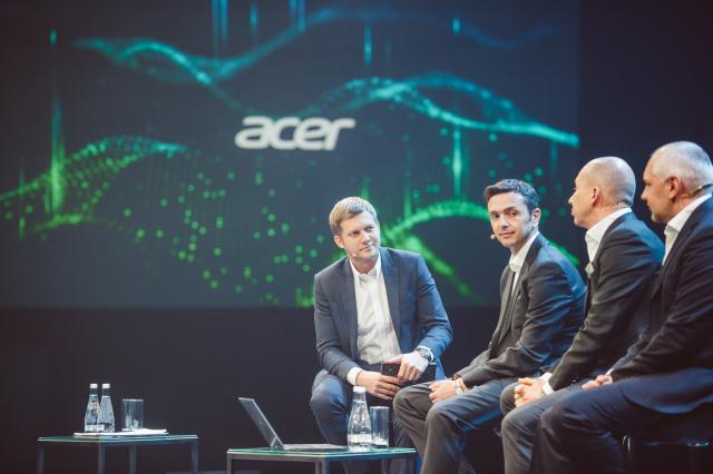 Борис Корчевников провёл Acer Brand Day