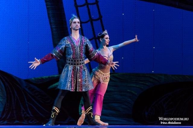 Спектакль театра «Кремлёвский балет» - «Тысяча и одна ночь»