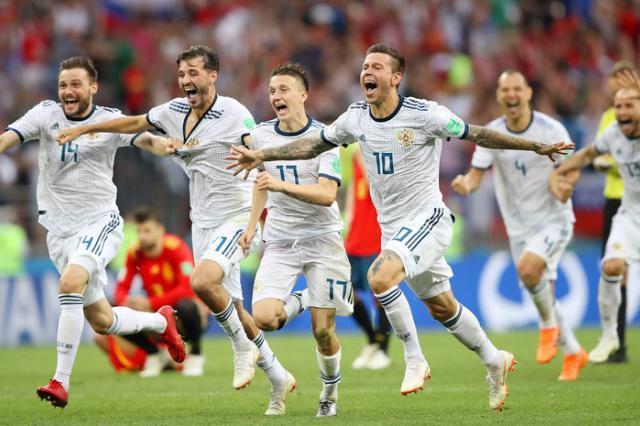 Россия обыграла Испанию и впервые в новейшей истории вышла в четвертьфинал Чемпионата мира!