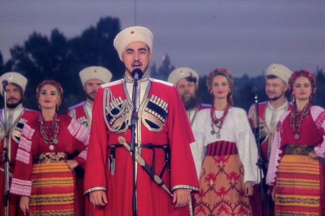 Кубанский казачий хор погрузил гостей «Славянского базара» в задорный мир