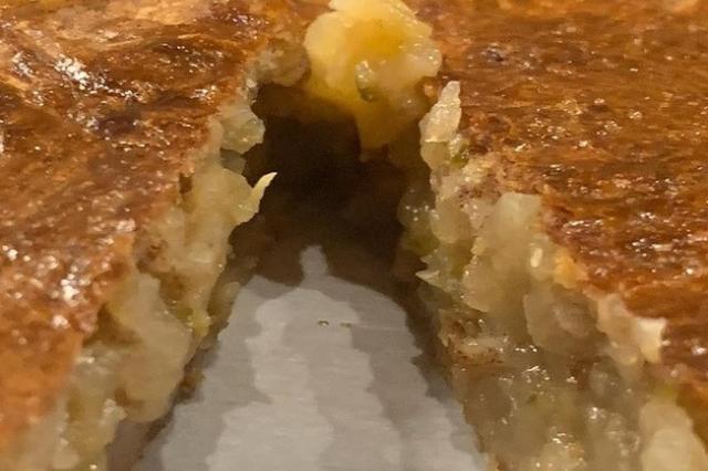 Яблочный пирог из слоёного теста от Екатерины Рождественской