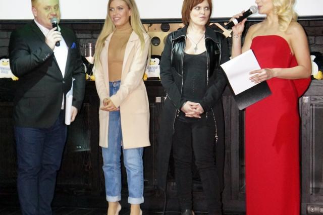 Презентация клипа Натальи Гордиенко на развлекательной светской премии «Зимовка звезд»