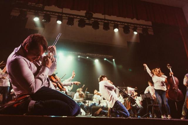 """Симфоническое шоу """"Хиты группы Rammstein""""в исполнении оркестра RockestraLive"""