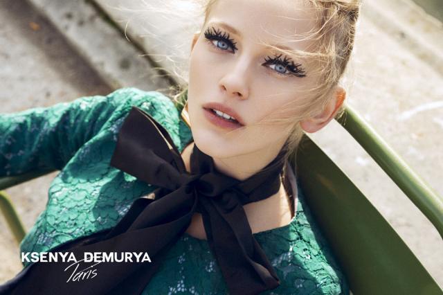 Модный дом DEMURYA представил новогоднюю рекламную компанию 2015-2016 года by Ksenya Demurya.