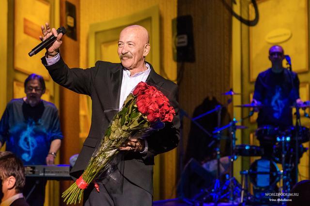 В Москве завершилась традиционная серия концертов Александра Розенбаума
