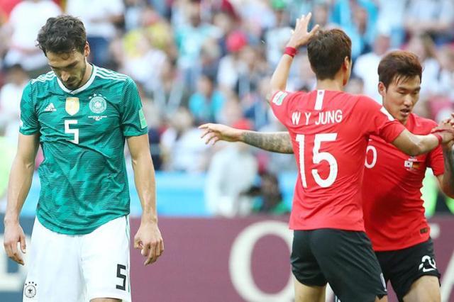 Сборная Германии сенсационно покидает ЧМ-2018 по футболу