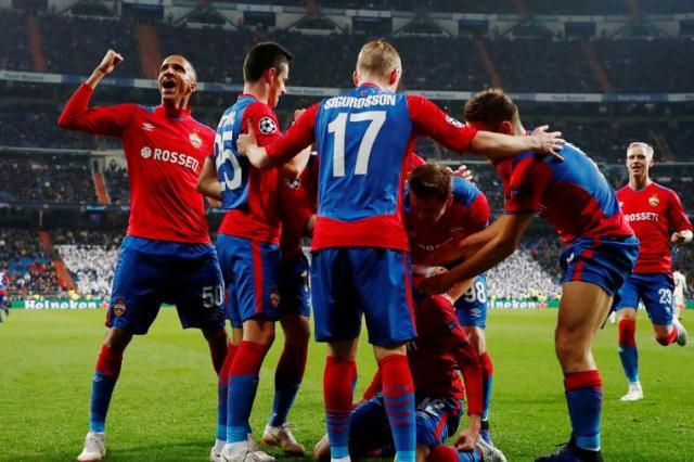 ЦСКА разгромил мадридский «Реал» со счетом 3:0