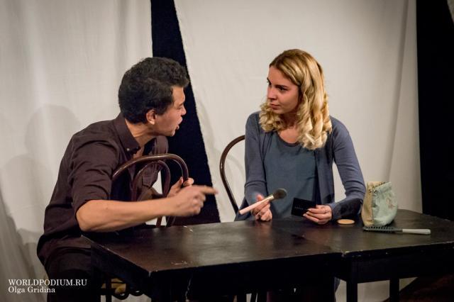 В Институте Современного Искусства прошли актерские показы мастерской Ивана Агапова