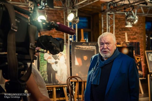Открытие Театра-Студии САС под руководством Сергея Соловьева