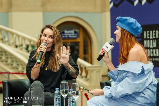 «Мода и стиль жизни»,- Public Talk Айзы Анохиной