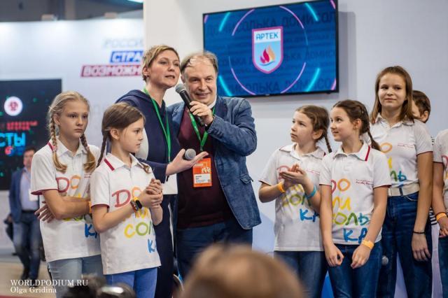 Второй день Театра «Домисолька» на Московском международном салоне образования