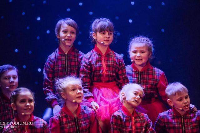 Отчетный концерт эстрадного отделения Московского детского театра эстрады