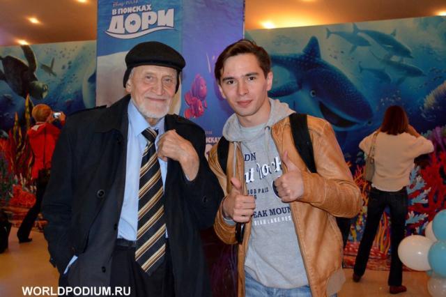 Николай Дроздов стал голосом Московского зоопарка