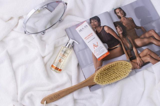 Избавление от растяжек и несовершенств кожи с Aravia Laboratories