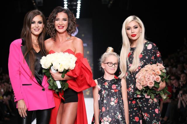 Bella Potemkina на Mercedes-Benz Fashion Week Russia