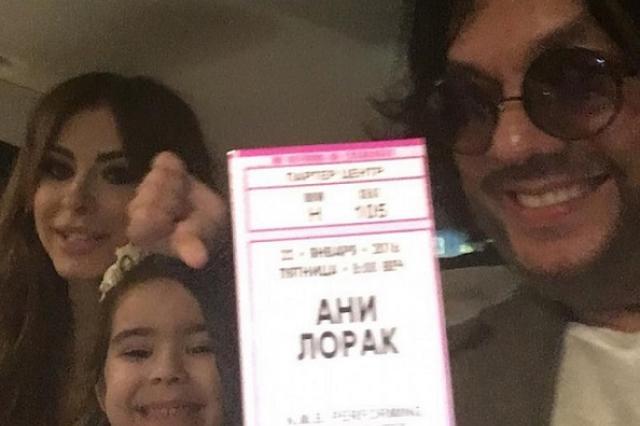 Филипп Киркоров посетил сольный концерт Ани Лорак в Майами