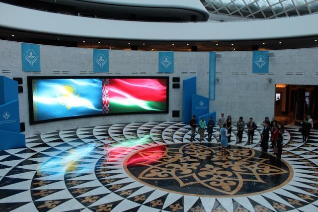 Книги памяти белорусского первопечатника переданы библиотеке Первого Президента Республики Казахстан