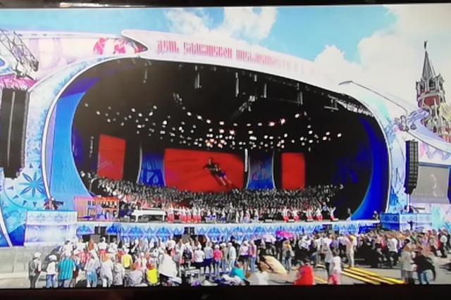 «Домисолька» в прямом эфире с Красной площади поздравила Россиян с «Днём славянской письменности»