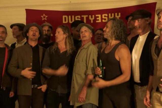 Австралийский хор исполнил «На поле танки грохотали» в самоизоляции