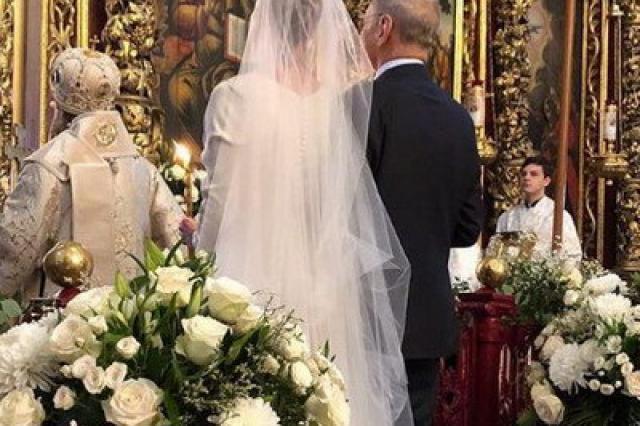 Андрей Кончаловский и Юлия Высоцкая обвенчались