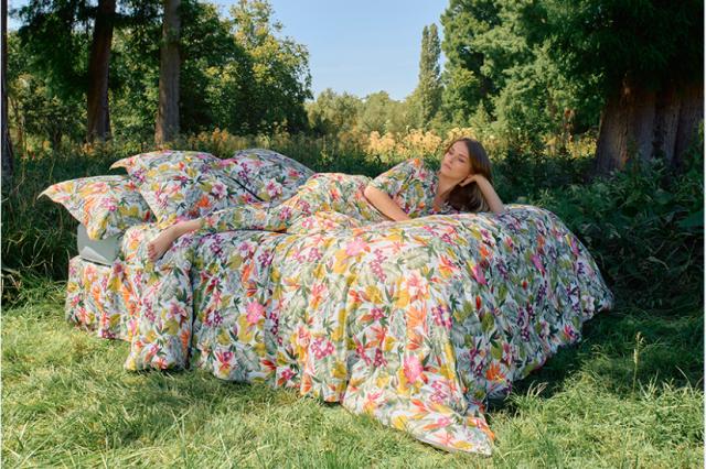 Yves Delorme: цветочные мотивы в интерьере