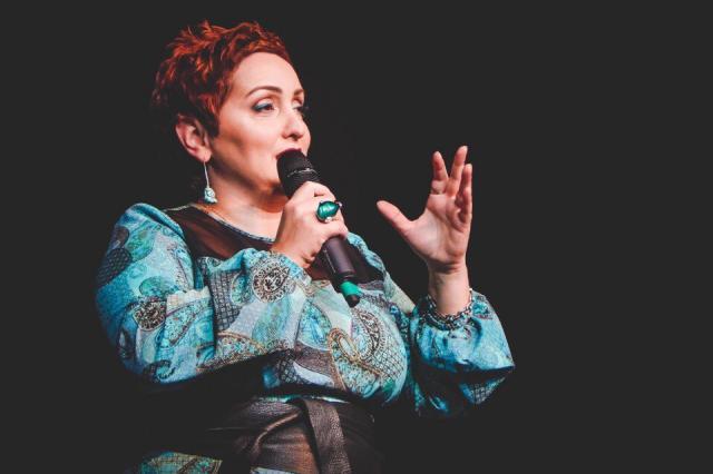 Благотворительный концерт в городе Клин  с участием Этери Бериашвили